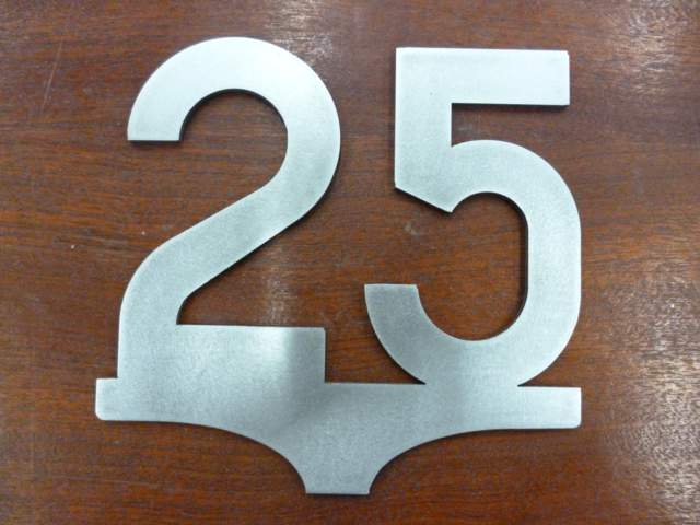 25mph Speed Sign - Steel Profile