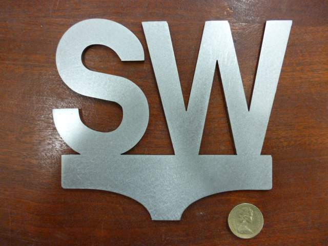 SW Sign - Steel Profile